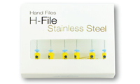 H Files-Stainless Steel - Pacdent