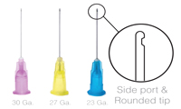 OptiProbe Irrigation Needle Tips- Side Port - Pacdent