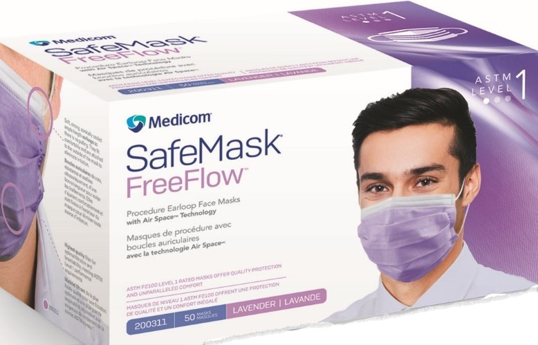 SafeMask FreeFlow ASTM1 w/Air Space Technology