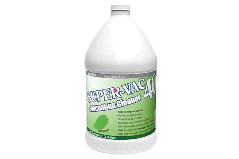 SuperVac 40 Evacuation System Cleaner