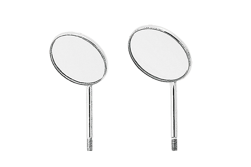 Magnifying Simple Stem Mouth Mirrors