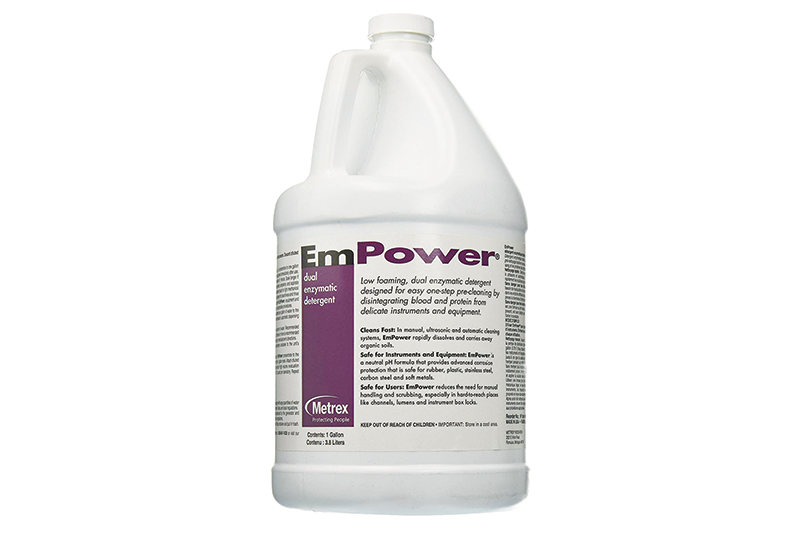 Empower Dual Enzymatic Evacuation & Instrument Detergent Cleaner
