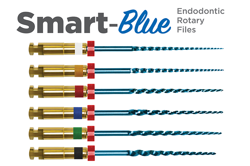 Smart-Blue Endodontic Rotary Files