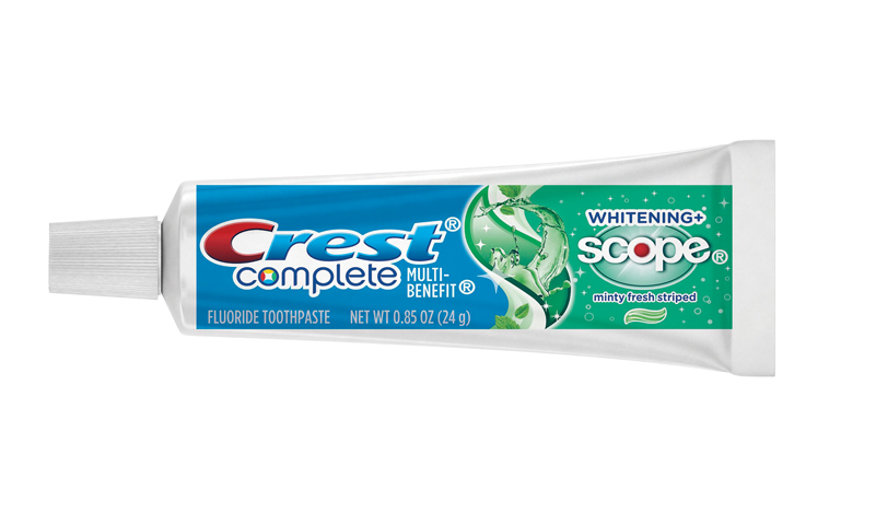 Crest Complete Multi-Benefit Whitening+Scope Toothpaste