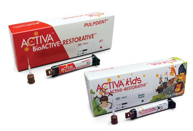 ACTIVA BioActive Dual-Cure Restorative Buy1Kit Get1 Single Ref; Buy3 Val Ref Get 1Free
