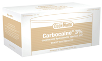 Carbocaine 3%(Mepivacaine HCl)w/o Vasoconstrictor-SEPTODONT Buy 10 Get 1 of the Same Free