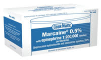Marcaine .5% w/EPI-1:200,000(Bupivacaine HCl&EPI)-SEPTODONT Buy 10 Get 1 of the Same Free