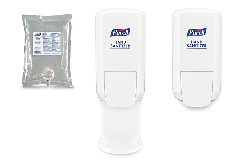 PURELL® CS2 Dispensing System, Shield™ Floor and Wall Protector and Refills