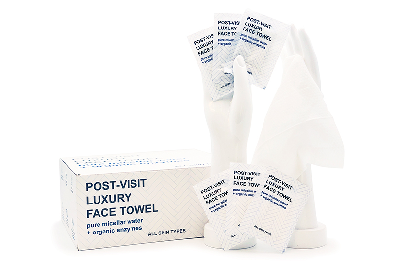 Post-Visit Luxury Face Wipes
