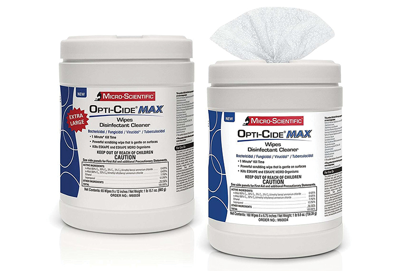 Opti-Cide® Max Disinfectant Cleaner, Wipes ON ALLOCATION