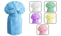 Tie Back Isolation Gowns