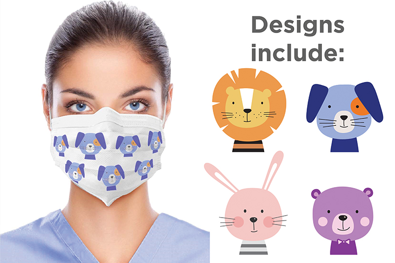 Pediatric Premium Ear-loop Face Mask - ASTM3