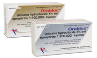 Orabloc Articaine HCL 4% + EPI Injection Buy 10 Get 1 Free