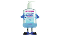 Purell Advanced Instant Hand Sanitizer - Pump Bottle w/ Holder - Gojo