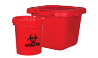 SOLMETEX Bio-Hazard Sharps Disposal