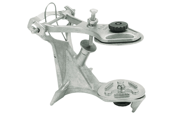 Articulator with 2 Mounting Plates