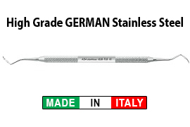 Taylor Scalers - Double Ended - Solid Stainless Steel Handle Buy 5 Get 5 Free